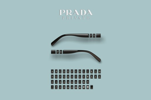 "Prada ""Private"" Customizable Glasses"