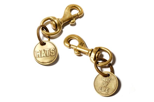 RATS X Blackflag Keychain