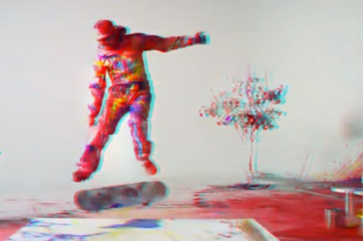 Red Bull Skateboarding: Skateboarding Meets Paint 3D