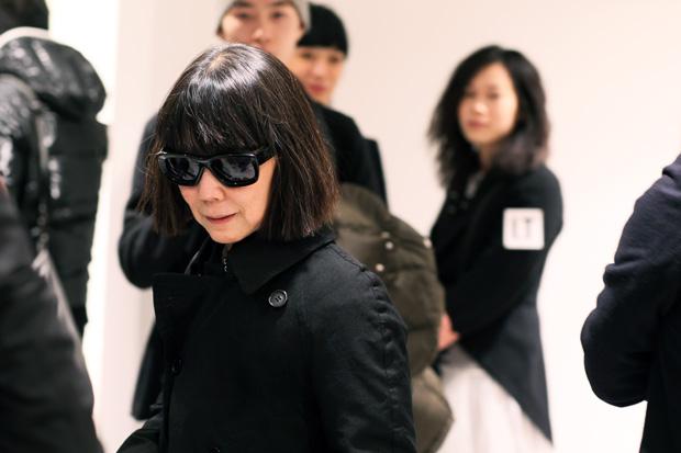 Streetsnaps: Rei Kawakubo in Beijing