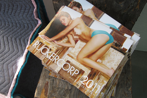 Ruckercorp 2011 Calendar by Richard Kern