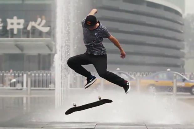 Shanghai 5: Skateboarding in Shanghai by Charles Lanceplaine