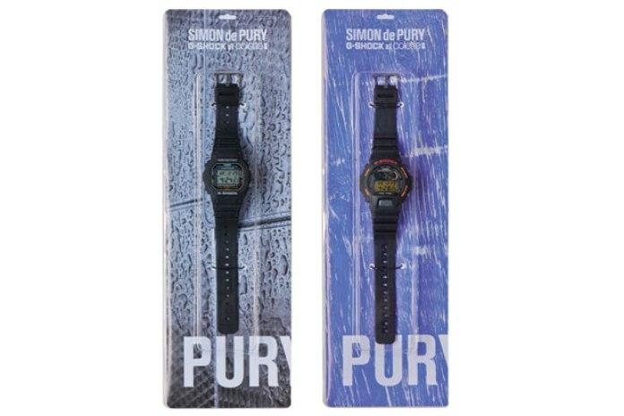Simon de Pury x Casio G-Shock