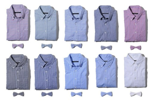SOPHNET. 2011 Spring/Summer Shirt & Bow-Tie Collection