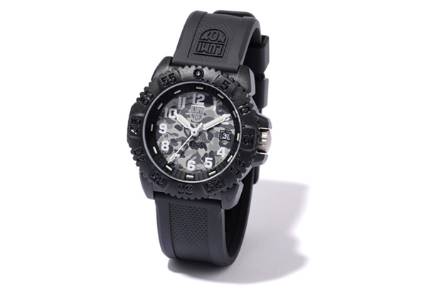 Stussy x A Bathing Ape Camo Luminox Watch