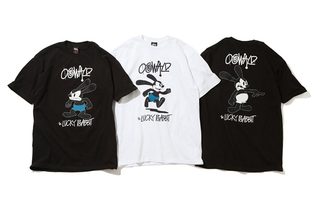 Stussy x Oswald the Lucky Rabbit T-Shirts