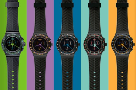 Swatch Chrono Black Collection