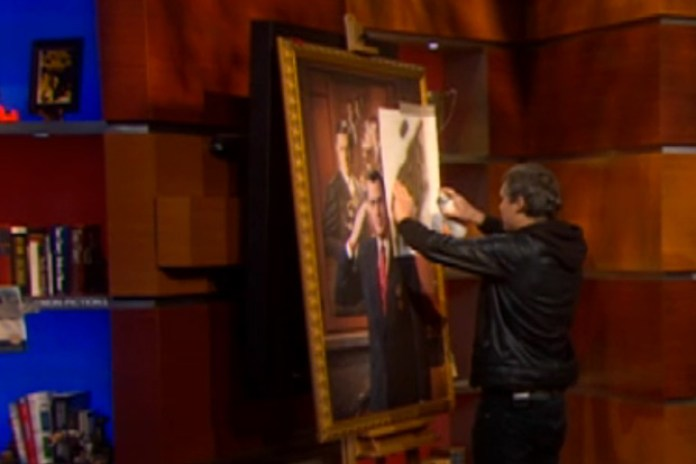 The Colbert Report featuring Shepard Fairey and Steve Martin