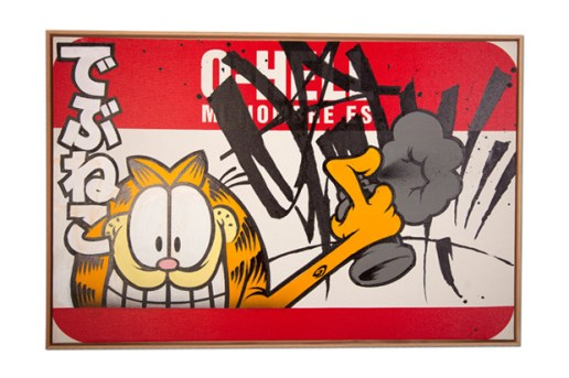 The Hundreds x Garfield: Art Show Artwork