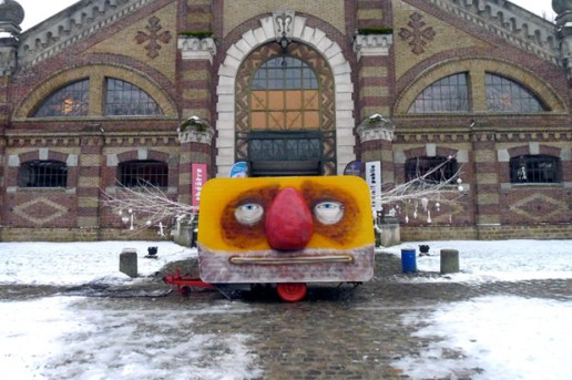 """The Moulin x Os Gemeos """"Dépayz'arts"""" Installation Preview"""