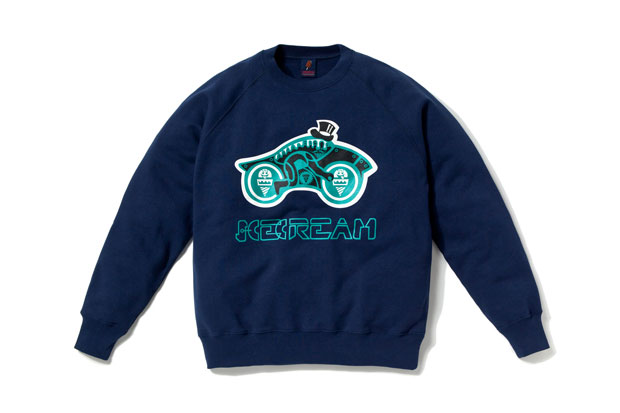 ICECREAM Ice-Cycle Crewneck Sweater