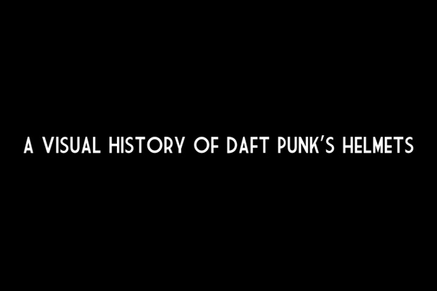 A Visual History of Daft Punk Helmets