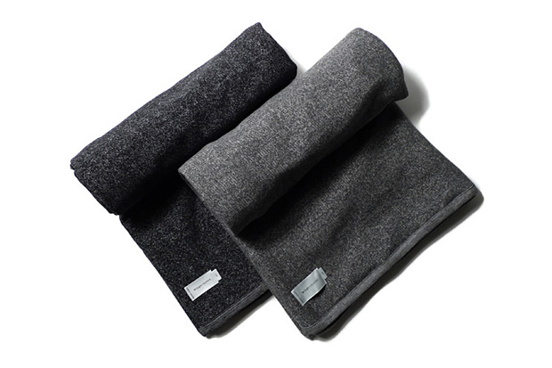 wings + horns Sueded Tiger Fleece Blanket