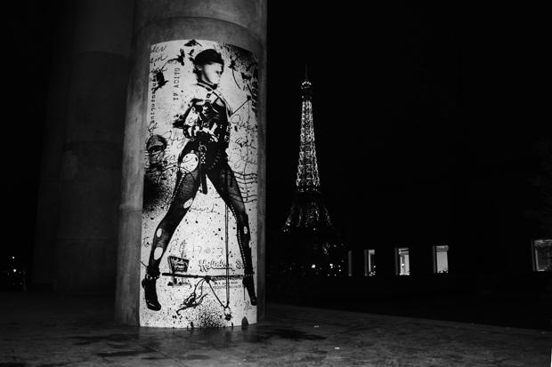 "WK Interact ""Sexy Bondage"" in Paris"