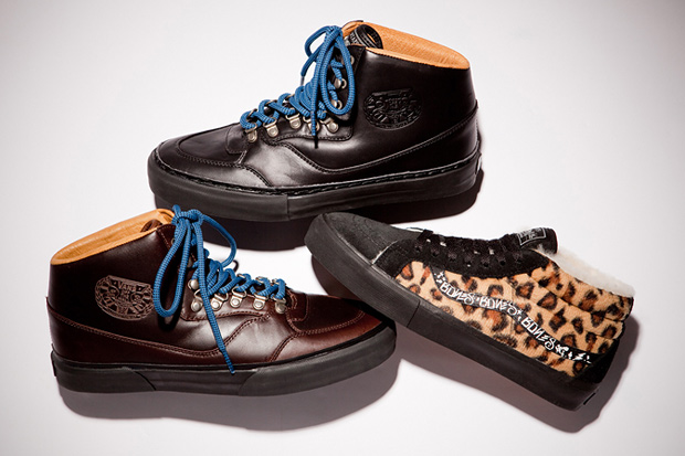 WTAPS x Vans Syndicate Blackflag, Hoods & Supreme Exclusive Mountain Boots & SK8-MID