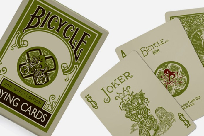A Bathing Ape x Bicycle Playing Cards