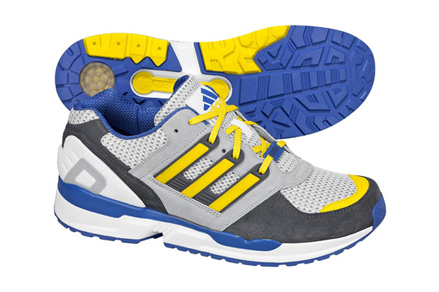 adidas Originals EQT Gray/Blue/Yellow