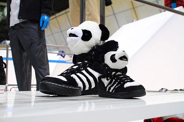 adidas Originals by Originals Jeremy Scott Panda Sneakers