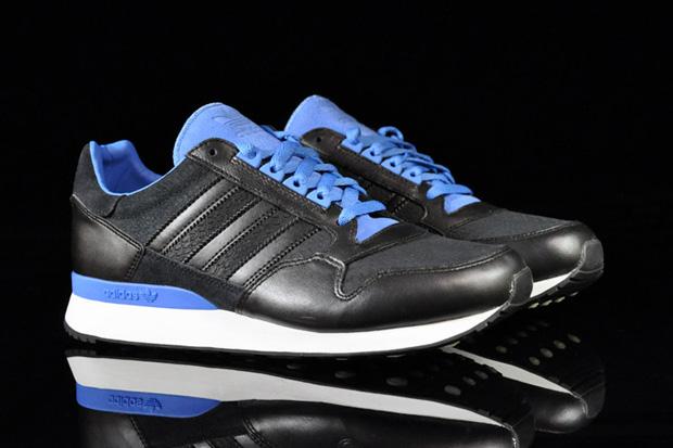 adidas ZX 500 Black/Fresh Blue
