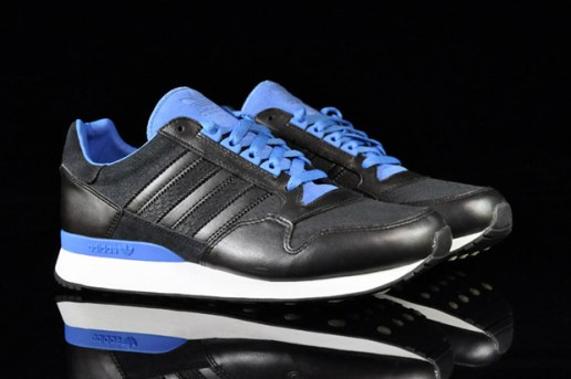 adidas ZX 500 Black/Fresh Blue