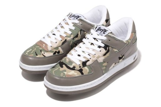 A Bathing Ape Octopus Tailor Camo Sk8 Sta
