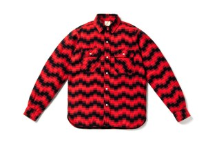 Billionaire Boys Club Digi Jack Elbow Patch Shirt