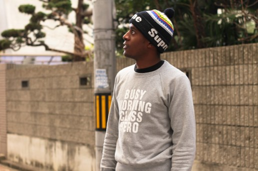 Streetsnaps: BUSY WORKING CLASS HERO