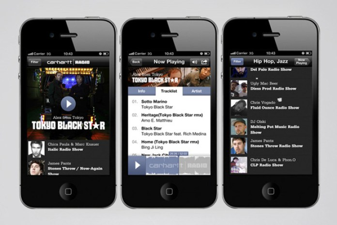 Carhartt Radio iPhone App