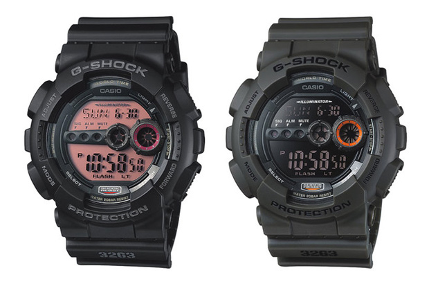 Casio G-Shock 2011 GD-100 Collection