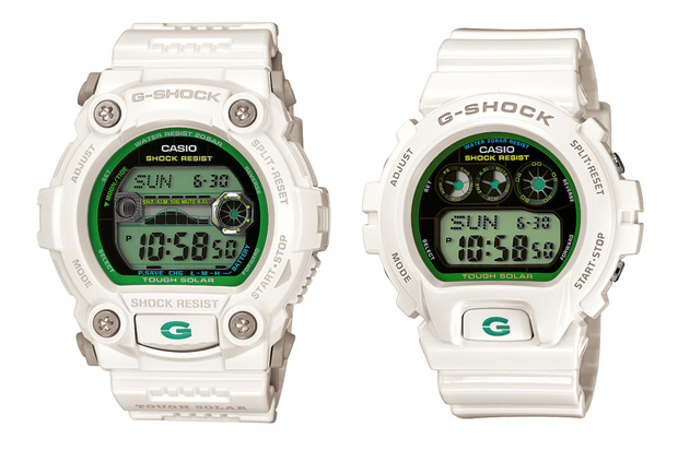 "Casio G-Shock ""Green Colors"" Collection"