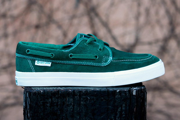 Converse Sea Star Evergreen/White