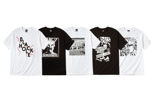 "Domino Records x Stussy ""BLACK HOLE"" Collection"