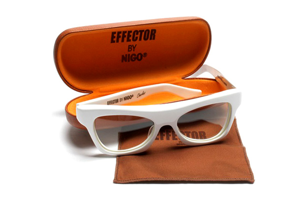 "Effector by NIGO – White ""Charles"" Glasses"