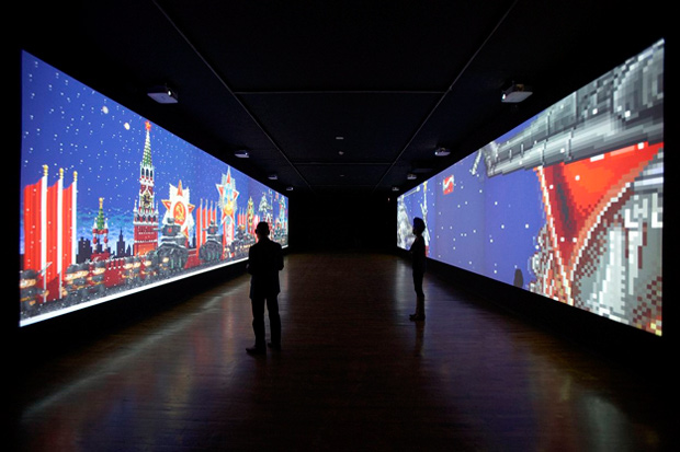 "Feng Mengbo ""Long March: Restart"" Video Game Exhibition"