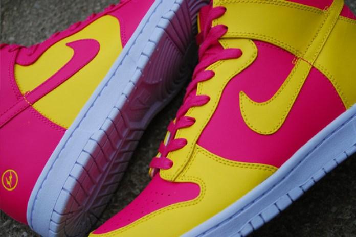 "fragment design x Nike Sportswear Dunk Hi ""London"""
