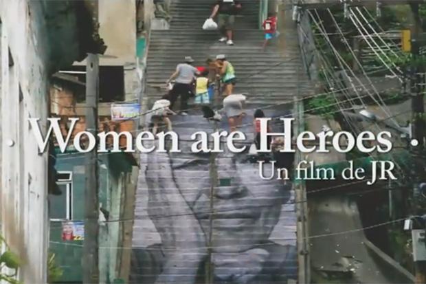 """JR """"Women Are Heroes"""" Trailer"""