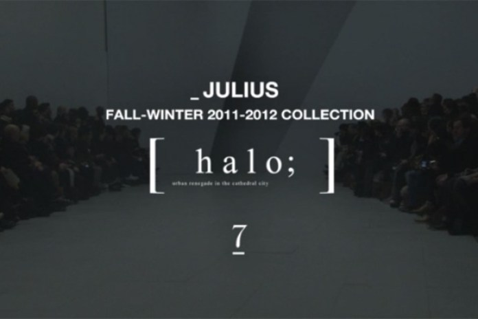 JULIUS 2011 Fall/Winter Runway Video