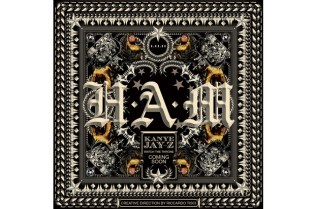 "Kanye West x Jay-Z ""H.A.M."" Cover Art for Watch the Throne"