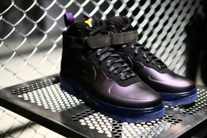 "Kobe Bryant x Nike Sportswear Air Force 1 Foamposite ""Eggplant"""