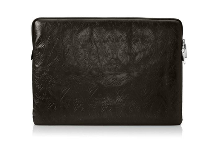 "Liberty of London ""Ianthe"" Leather MacBook Sleeve"