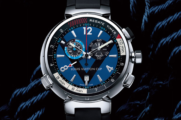Louis Vuitton Tambour Regate Navy