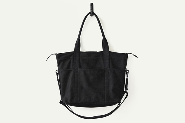 Makr Black Canvas Utility Bag