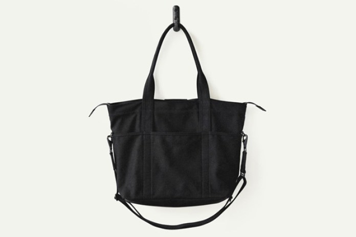 Makr Black Canvas Utility Bag