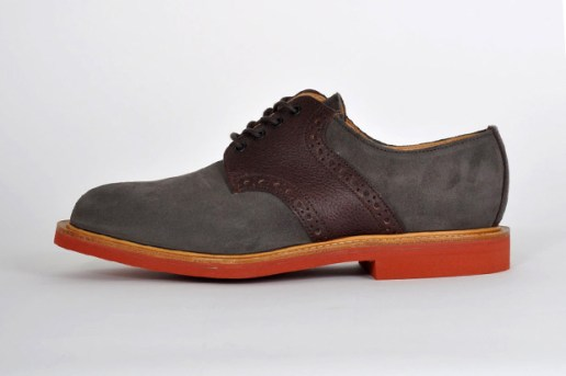Mark McNairy New Amsterdam Two Tone Saddle Shoe