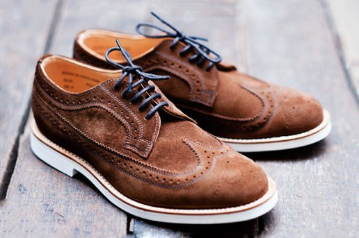 Mark McNairy Suede Wingtip