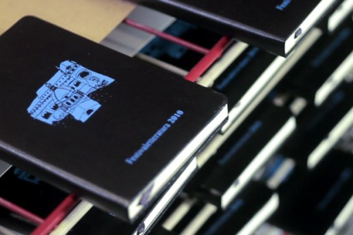 Moleskine Silk Screen Printing Video