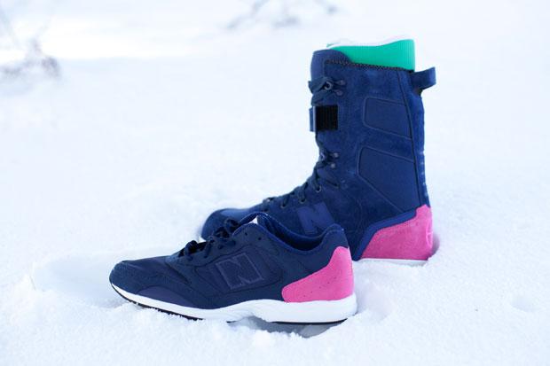 686 x HUF x New Balance 2011 Spring Footwear