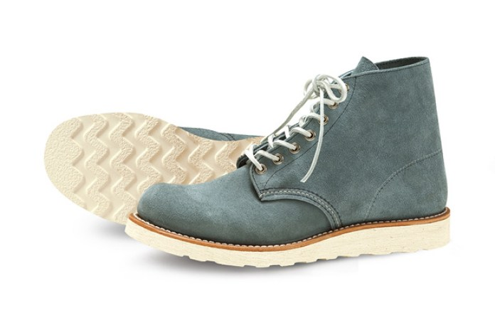 "Nigel Cabourn x Red Wing Shoes Classic Work 6"" Round-Toe Boot"