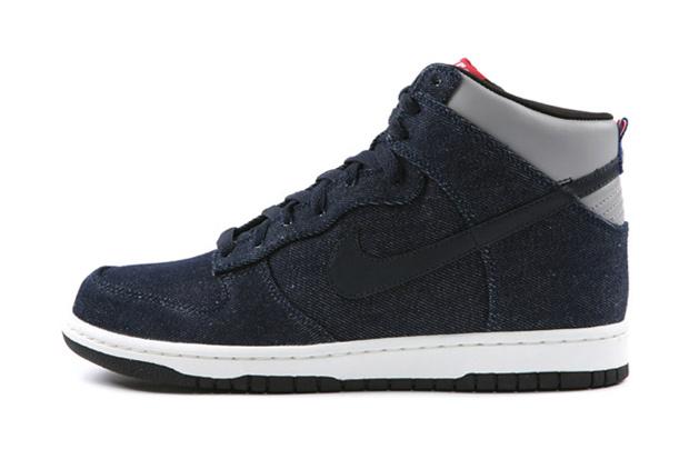 Nike Dunk High Premium Blue Denim