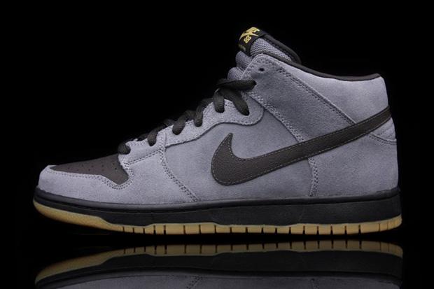 Nike SB Dunk Mid Charcoal Heather/Tar